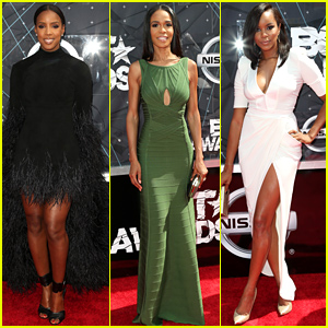 Kelly Rowland & Michelle Williams Rep Destiny's Child at BET Awards 2015