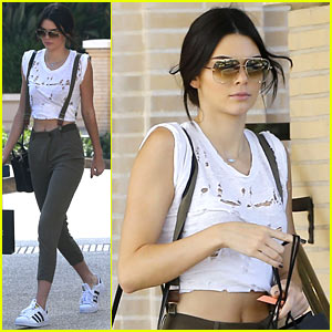 Kendall Jenner Gets in Retail Therapy After China Trip