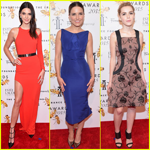 Kendall Jenner is Red Hot at Fragrance Foundation Awards 2015