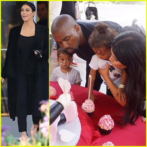 Kim Kardashian Shares Pics From North's Disneyland Birthday!