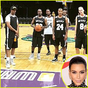 Kim Kardashian Rents Out Staples Center for Kanye West's Birthday