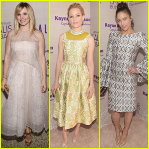 Kristen Bell & Elizabeth Banks Get Dolled Up for Chrysalis Butterfly Ball 2015