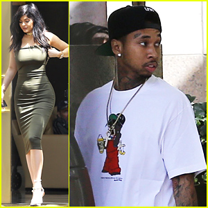 Kylie Jenner & Tyga Step Out After Caitlyn Jenner's Reveal