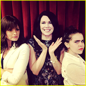 Lauren Graham's Two TV Daughters Meet For the First Time!