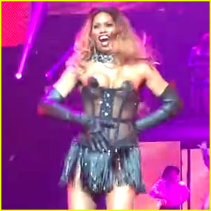 Laverne Cox Strips to Pasties & Corset for 'Broadway Bares' Dance (Video)