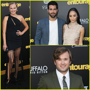 Malin Akerman, Jesse Metcalfe & Cara Santana Get Their 'Entourage' On at Los Angeles Premiere!