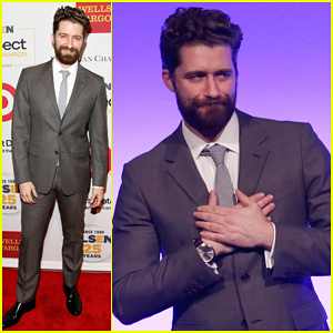 Matthew Morrison Gets Honored with the Inspiration Award at GLSEN Respect Awards 2015!