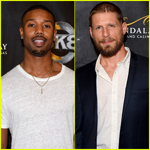 'Friday Night Lights' Guys Michael B. Jordan & Matt Lauria Both Hit Up Vegas Boxing Match