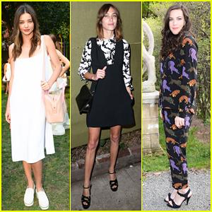 Miranda Kerr, Alexa Chung & Liv Tyler Have A Garden Party at Stella McCartney's Spring 2016 Presentation!