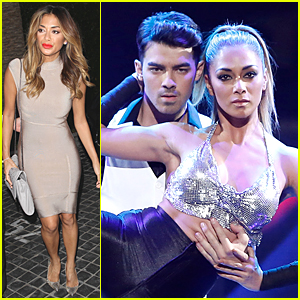 Nicole Scherzinger & Joe Jonas Perform Dangerous Skating Act on 'I Can Do That' - Watch Now!