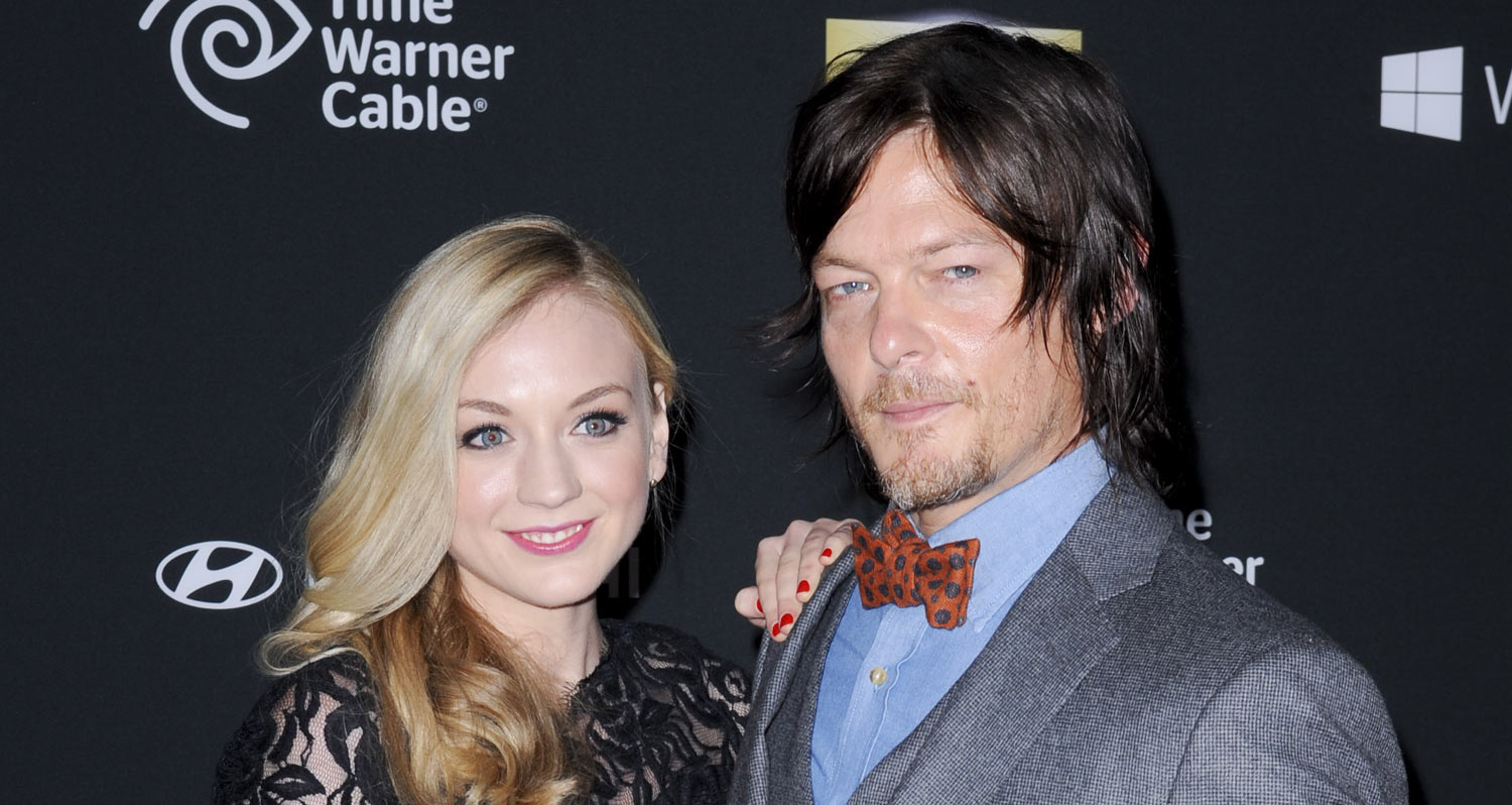 Norman reedus emily kinney not dating