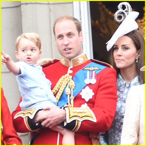 Prince William & Kate Middleton Bring Prince George to 'Trooping The Colour,' Leave Princess Charlotte at Home