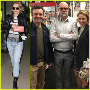 Rachel McAdams Reunites With Ex Michael Sheen in L.A.