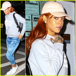 Rihanna Keeps it Casual for Dentist Appointment in NYC