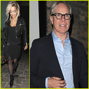 Rita Ora Starts 'Poison' Radio Tour Before Dining With Ricky & Tommy Hilfiger