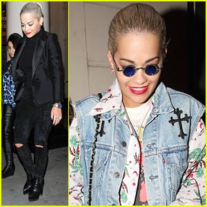 Rita Ora Catches Bradley Cooper in 'The Elephant Man'