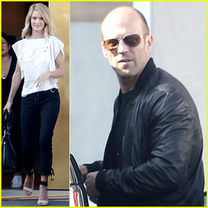 Rosie Huntington-Whiteley & Jason Statham Shop for Furniture