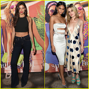 Sara Sampaio Celebrates Summer with Chanel Iman Amidst Harry Styles Dating Rumors