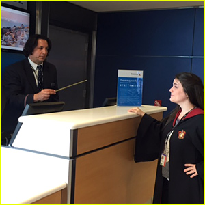 Harry Potter's Severus Snape Works For American Airlines - See the Pic!