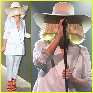 Sia Hits Milan To Celebrate Calvin Klein's Italo Zucchelli!