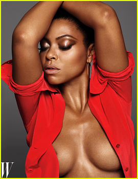 Taraji P. Henson Shows Off So Much Skin for 'W' Mag!
