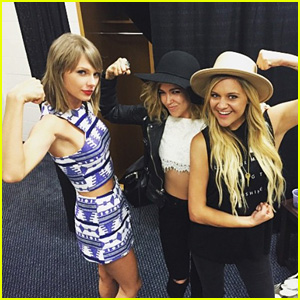 Taylor Swift Jams Out With Rachel Platten & Kelsea Ballerini Backstage in Pittsburgh!