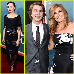 Thomas Mann Premieres 'Me & Earl & The Dying Girl' with Connie Britton In Los Angeles