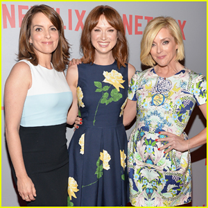 Tina Fey, Ellie Kemper & Jane Krakowski Team Up at 'Unbreakable Kimmy Schmidt' Screening!