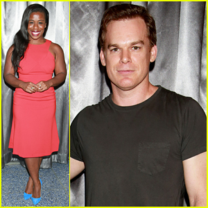 Uzo Aduba & Michael C. Hall Have Themselves a Theatre Night at 'The Qualms' Opening!