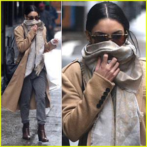 Vanessa Hudgens Curls Up With Her 'Star-Crossed Lover'