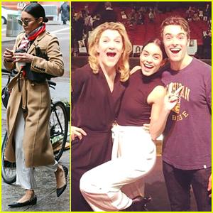 Vanessa Hudgens Rehearses For the Tony Awards - See The Cute Pic!