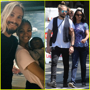 Zoe Saldana Spends Her Birthday at the Aquarium With Hubby Marco Perego & the Twins!