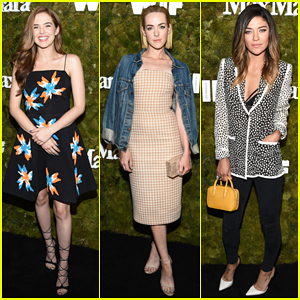 Zoey Deutch, Jena Malone, & Jessica Szohr Step Out In Style for Max Mara's Women In Film Party!