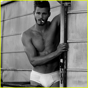 Alexander Ludwig Strips Down to His Underwear for 'Flaunt'
