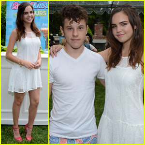 Bailee Madison & Nolan Gould Step Out for JJ's Summer Bash Presented by SweeTARTS Chewy Sours