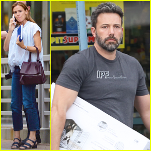 Ben Affleck Keeps Busy in Georgia While Jennifer Garner Continues Work on 'Miracles from Heaven'!