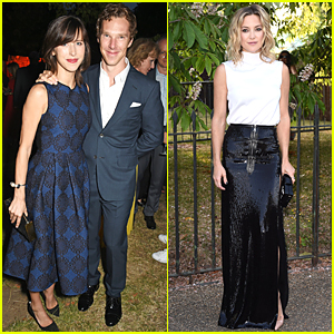 Benedict Cumberbatch & Sophie Hunter Are Glowing Parents at First Post-Baby Appearance
