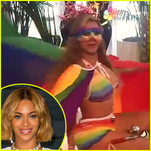 Beyonce Dances in Her Rainbow Bikini to Celebrate Supreme Court's Marriage Equality Decision (Video)