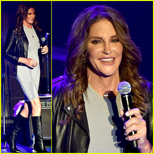 Caitlyn Jenner Makes Surprise Appearance On Stage at Boy George's Concert!
