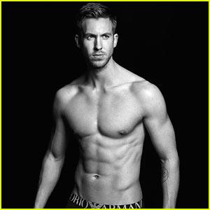 Calvin Harris Is Shirtless Sexy in New Armani Underwear Ad!