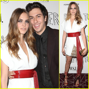 Cara Delevingne & Nat Wolff Bring 'Paper Towns' to WeHo
