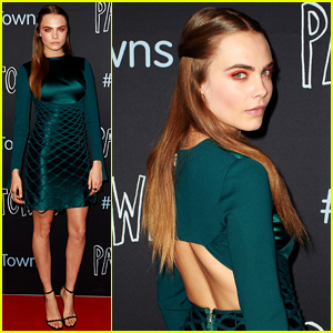 Cara Delevingne Premieres 'Paper Towns' Solo in Sydney