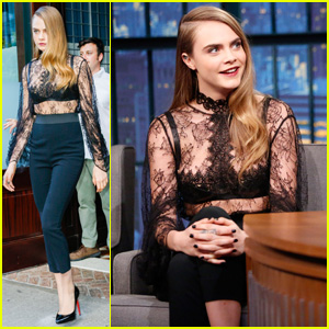 Cara Delevingne Opens Up About 'Suicide Squad' Audition on 'Late Night With Seth Meyers' - Watch Now!
