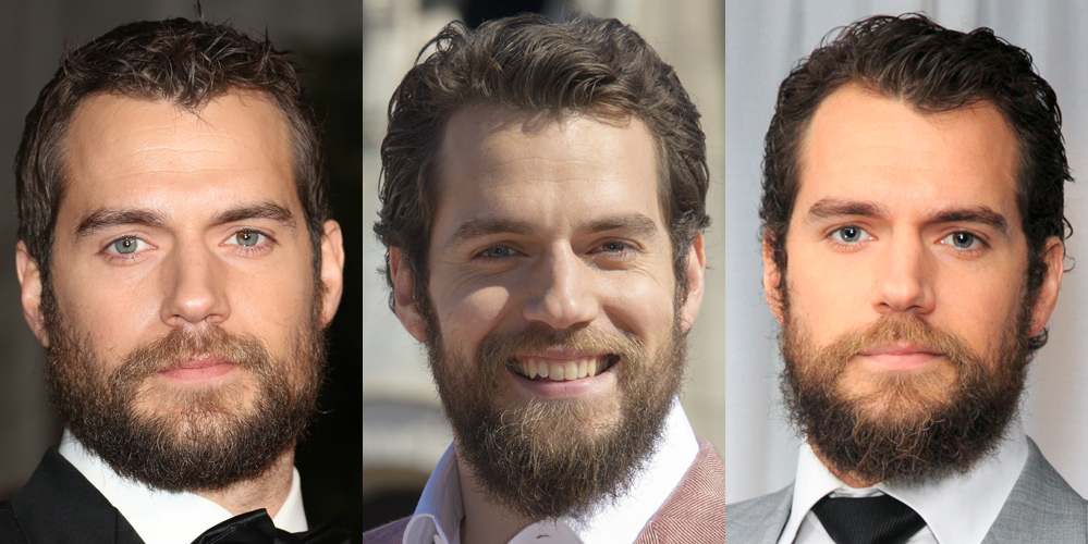 henry cavill shaves his beard see before after photos. Black Bedroom Furniture Sets. Home Design Ideas