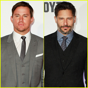 Channing Tatum & Joe Manganiello Buddy Up for 'Magic Mike XXL' Australian Premiere!