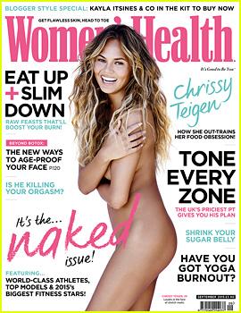 Chrissy Teigen Goes Completely Naked for 'Women's Health UK'