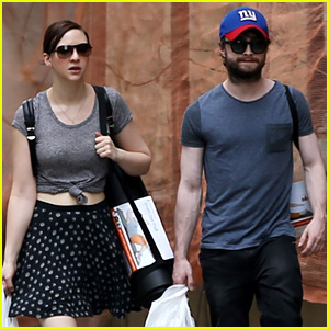 Daniel Radcliffe & Girlfriend Erin Darke Shop for Yoga Mats