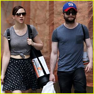 Daniel Radcliffe & Girlfriend Erin Darke Shop for Yoga Mats