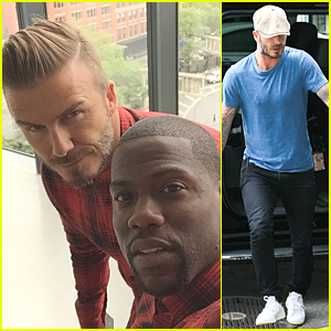 David Beckham & Kevin Hart Are Adorable Twins For H&M Campaign