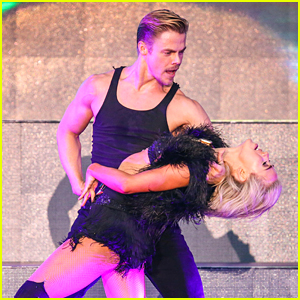 Derek Hough Dances In The Rain For Move Live On Tour - Watch The Vid!